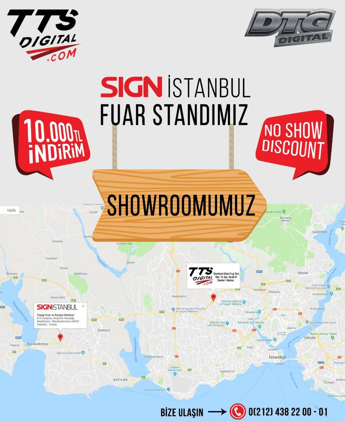 sign 2019 İstanbul Fuarı